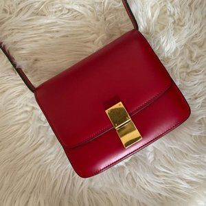 Celine Box bag quality dupe